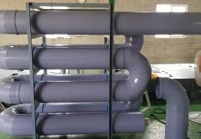 PVC 덕트 실험장치